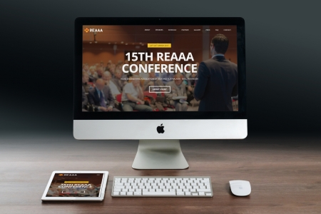 Contoh Website Konferensi Event Seminar